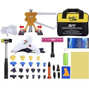 HIP TEC Paintless Auto Dellen Repair ausbeulwerkzeug Puller Kits, DIY Dent Repair für Fahrzeug Dellen