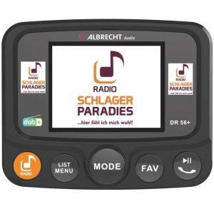 Albrecht DR56+ DAB+ Adapter zum Aufrüsten von Auto-Radios