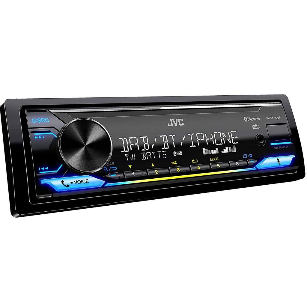 JVC KD-X472DBT USB-Autoradio mit DAB+ und Bluetooth Freisprecheinrichtung