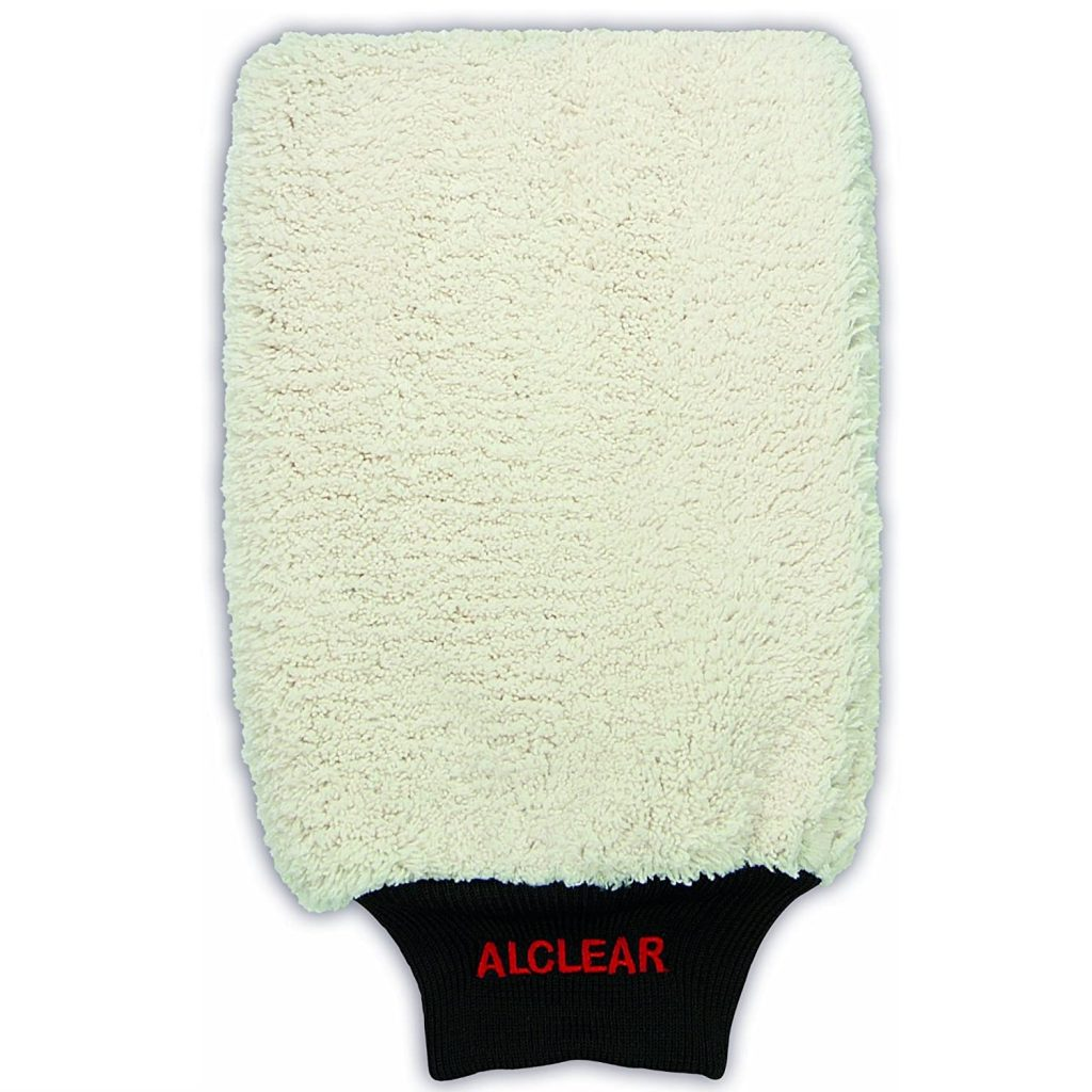 ALCLEAR 950013WH Mikrofaser-Waschhandschuh