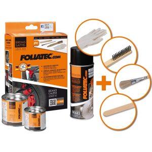 Foliatec 2168 Bremssattel Lack Set, weiß