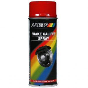 Motip 4098 Tuning-Line Spray Bremssattellack Spray - rot - 400ml