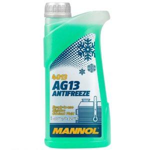 MANNOL 1571400500MN Antifreeze AG13-40 Kühlerfrostschutz Kühlmittel MN4013-5, 5L