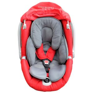 Maxuals® Universal-Sitzverkleinerer für Kinderwagen, Babyschale, Kissen, Autositz, atmungsaktiv, leicht, Unterstützung, Kopfschutz