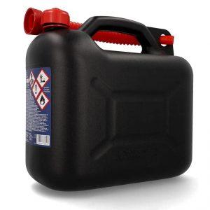 Cartrend Benzinkanister Kunststoff Kanister mit Ausgießer u