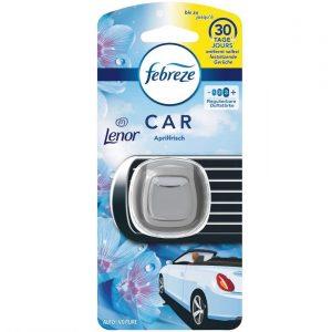 Febreze Auto Lufterfrischer (6 ml) Lenor Aprilfrisch, Auto Duft gegen Gerüche