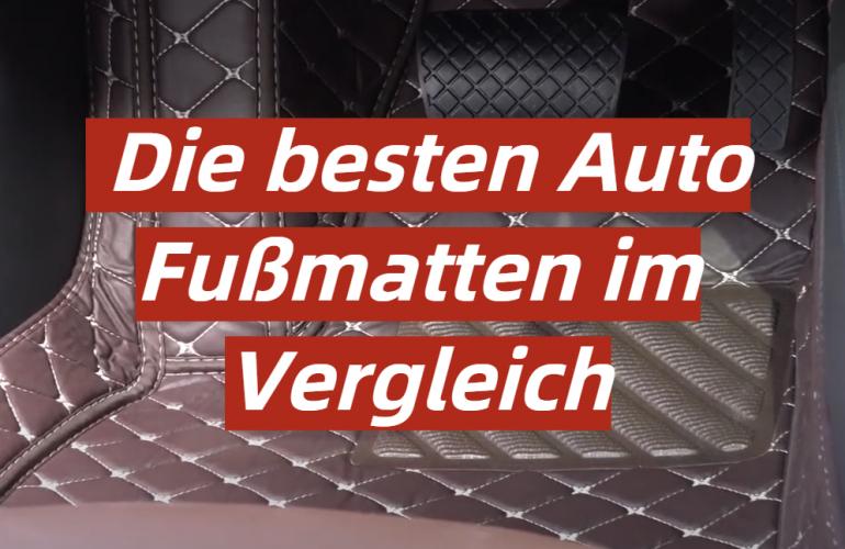 Auto Fußmatte Test 2021: Die besten 5 Auto Fußmatten im Vergleich