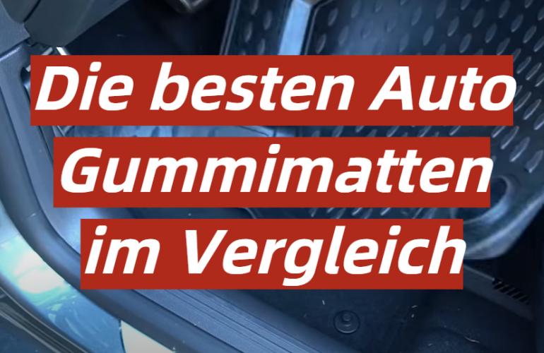 Auto Gummimatte Test 2021: Die besten 5 Auto Gummimatten im Vergleich