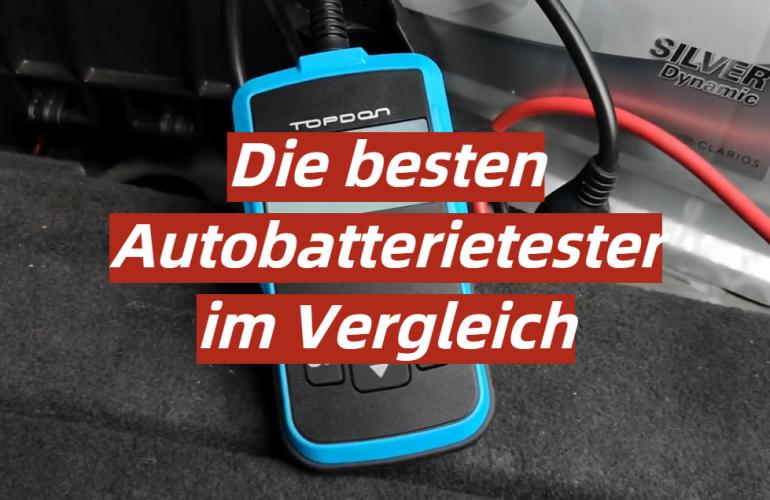Autobatterietester Test 2021: Die besten 5 Autobatterietester im Vergleich