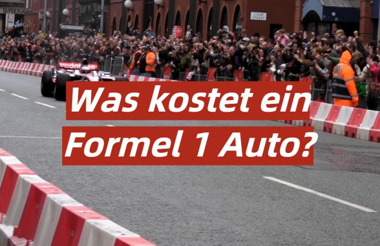 Was kostet ein Formel 1 Auto?